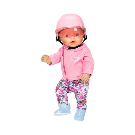 Zapf Creation BABY BORN Puppen City Scooter Helm 5