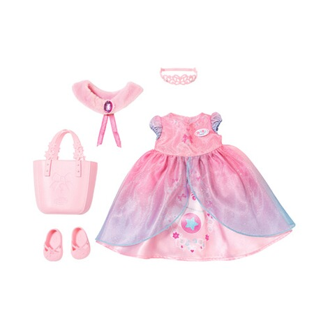 Zapf Creation BABY BORN Puppen Outfit Boutique Deluxe Shopping Prinzessin 1
