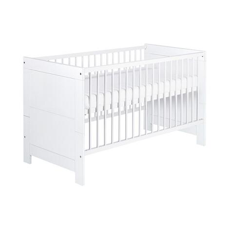 Schardt 3 Tlg Babyzimmer Nordic White Mit 2 Turigem Kleiderschrank