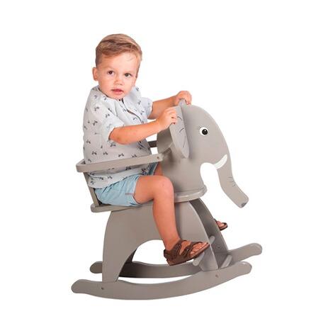 Childhome Schaukeltier Elefant Aus Holz Online Kaufen Baby Walz