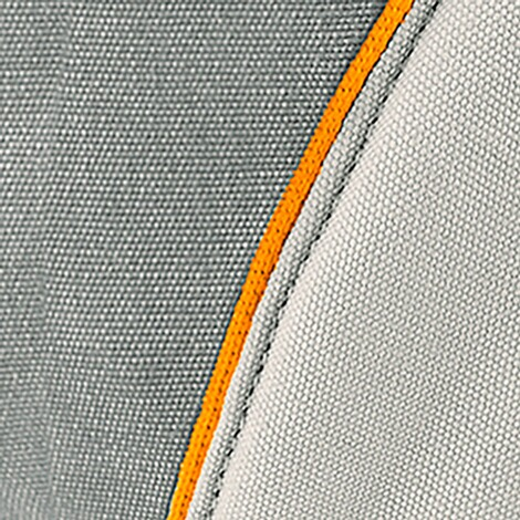 manduca® XT Babytrage, 3 Tragepositionen  grey-orange 9