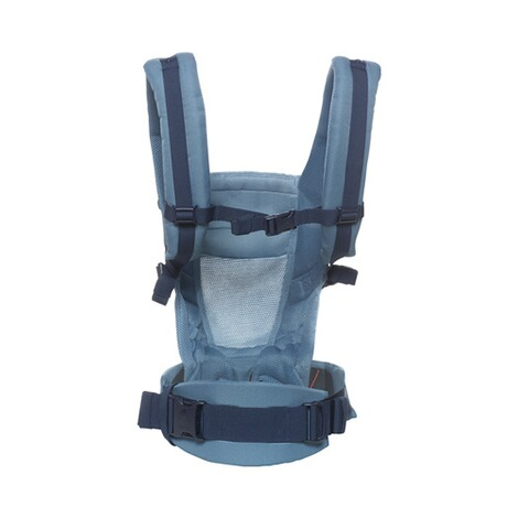 ERGOBABY® ADAPT Cool Air Mesh Babytrage, 3 Tragepositionen  Oxford Blue 3