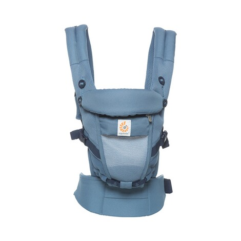 ERGOBABY® ADAPT Cool Air Mesh Babytrage, 3 Tragepositionen  Oxford Blue 2