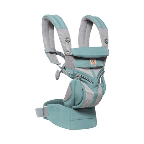 Ergobaby® OMNI 360 Cool Air Mesh Babytrage, 4 Tragepositionen  Icy Mint 4