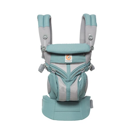 Ergobaby® OMNI 360 Cool Air Mesh Babytrage, 4 Tragepositionen  Icy Mint 2