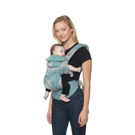 Ergobaby® OMNI 360 Cool Air Mesh Babytrage, 4 Tragepositionen  Icy Mint 5