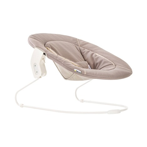 Hauck  Babywippe Alpha Bouncer 2in1  stretch beige 5