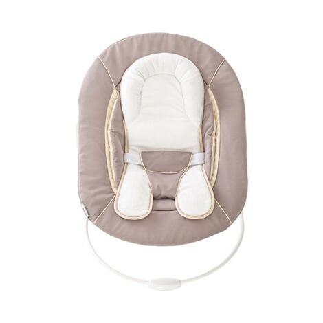Hauck  Babywippe Alpha Bouncer 2in1  stretch beige 7