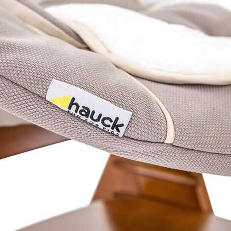 Hauck  Babywippe Alpha Bouncer 2in1  stretch beige 9