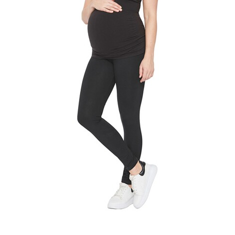 MAMALICIOUS®2er-Pack Umstands-Leggings Organic Cotton 4
