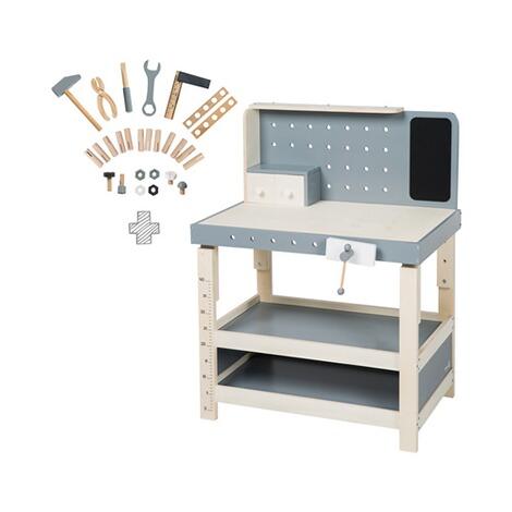 roba werkbank mit zubeh r aus holz online kaufen baby walz. Black Bedroom Furniture Sets. Home Design Ideas