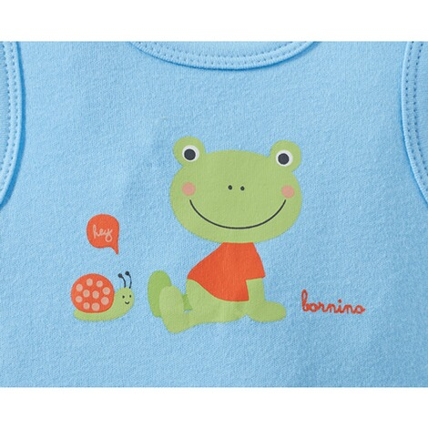 Bornino HAPPY DAYS Strampler-Set Frosch 5