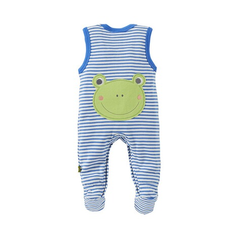 Bornino HAPPY DAYS Strampler-Set Ringel Frosch 5