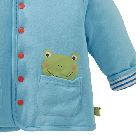 Bornino HAPPY DAYS Wendejacke Ringel Frosch 4