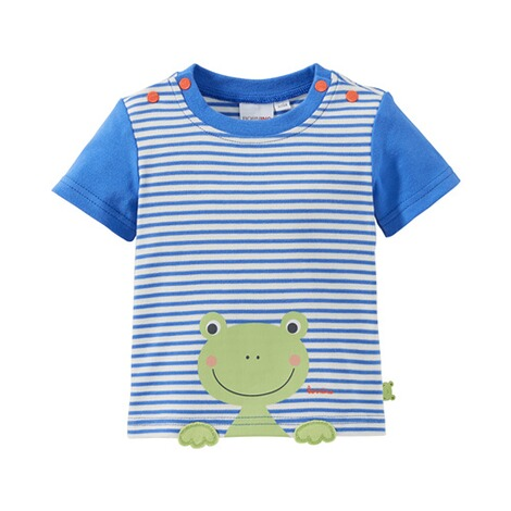 Bornino HAPPY DAYS T-Shirt Ringel Frosch 1