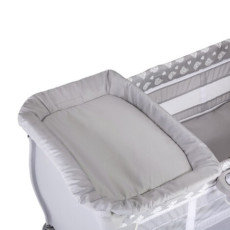 HauckBabycenter Reisebett  Teddy Grey 8