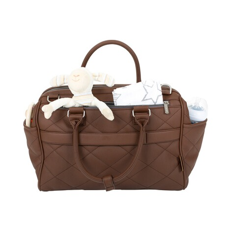 ABC Design  Wickeltasche Style  brown 3