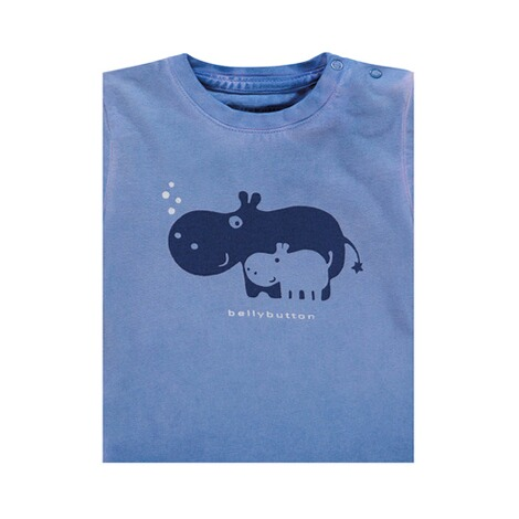 Bellybutton  T-Shirt Hippo Washed 3