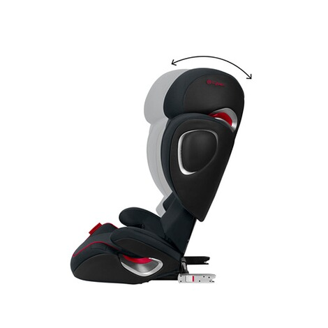 Cybex PLATINUM Solution Z-Fix Kindersitz Scuderia Ferrari  Victory Black 3