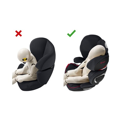 Cybex PLATINUM Solution Z-Fix Kindersitz Scuderia Ferrari  Victory Black 7