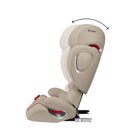 Cybex PLATINUM Solution Z-Fix Kindersitz Scuderia Ferrari  Silver Grey 3