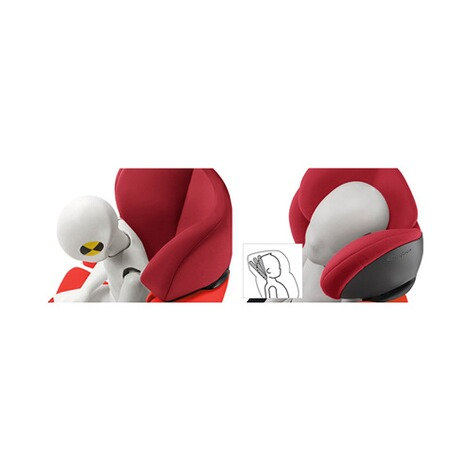 Cybex SILVER Pallas M-fix Kindersitz  rumba red 10