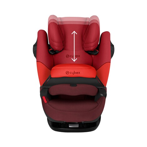 Cybex SILVER Pallas M-fix Kindersitz  rumba red 5