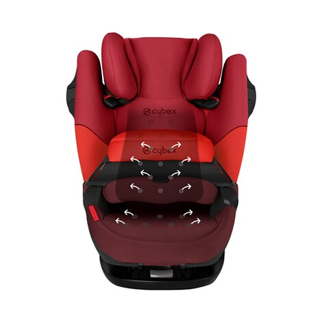 Cybex SILVER Pallas M-fix Kindersitz  rumba red 4