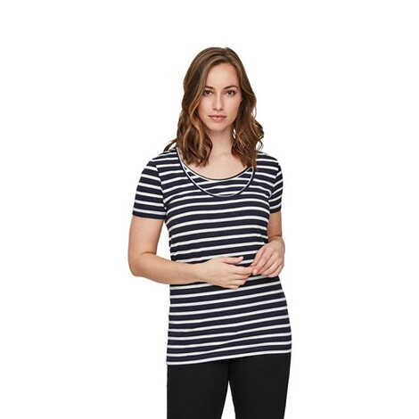MAMALICIOUS®  2er-Pack Umstands- und Still-T-Shirt Lea Organic Cotton 6