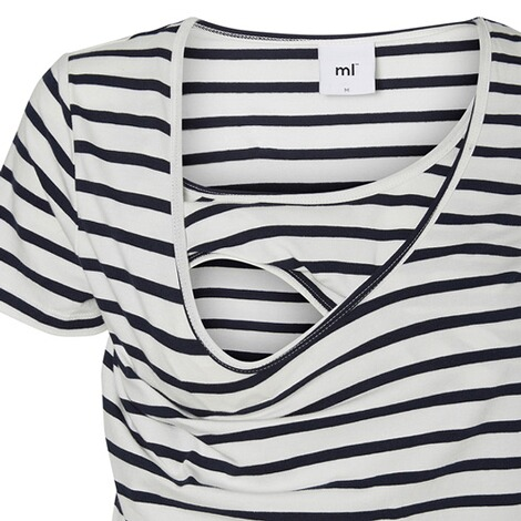 MAMALICIOUS®  2er-Pack Umstands- und Still-T-Shirt Lea Organic Cotton 5