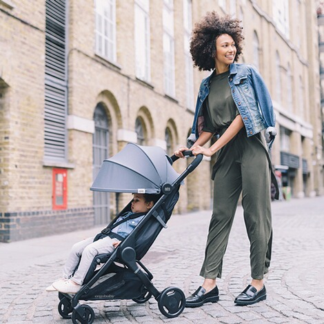 Ergobaby®  Metro Compact City Buggy  Grey 5