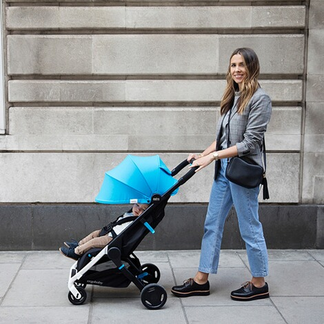 Ergobaby®  Metro Compact City Buggy  Blue 10
