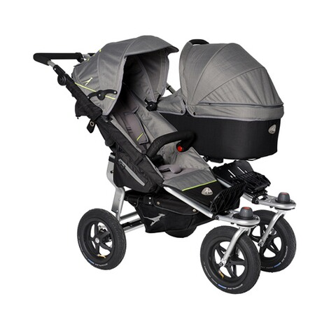 TFK  Tragewanne Twin mit Adapter für Twin Trail, Twin Adventure  Quiet Shade 3