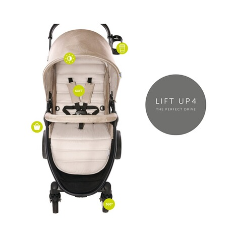 HAUCK  Lift Up 4  Buggy mit Liegefunktion  Fungi 3