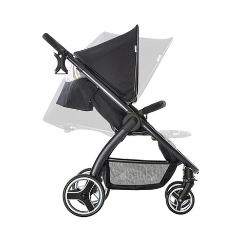 HAUCK  Lift Up 4  Buggy mit Liegefunktion  Caviar/Stone 4