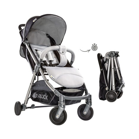 Hauck  Swift Plus Buggy mit Liegefunktion  Silver/Charcoal 3