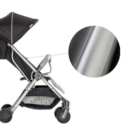 Hauck  Swift Plus Buggy mit Liegefunktion  Silver/Charcoal 8