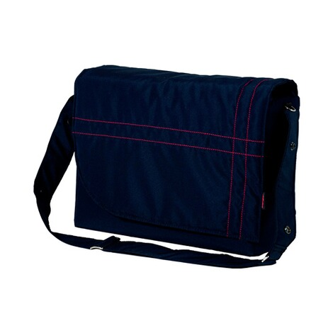 Hartan  Wickeltasche City bag  Navy Stripe 1