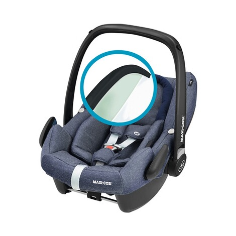 Maxi-Cosi ROCK i-Size Babyschale  Sparkling Blue 3