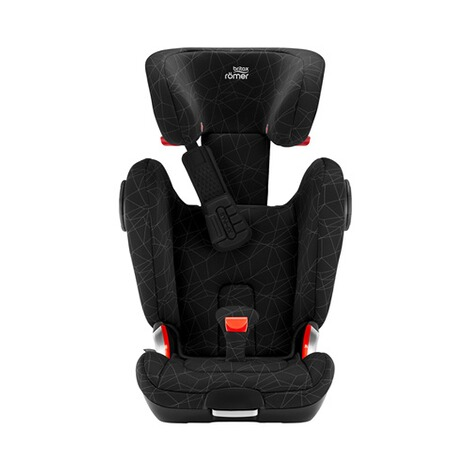 Britax Römer  Kidfix II XP SICT Kindersitz  Black Series crysal black 3