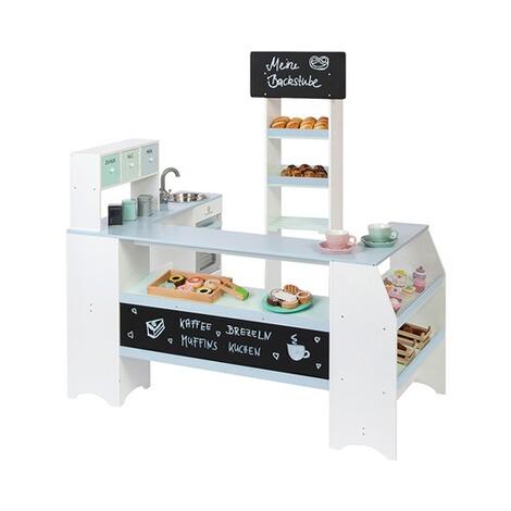 307b5ac87f87c1 Kaufladen Bäcker & Konditor Grano weiß/graublau