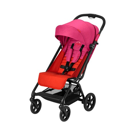 Cybex GOLD Eezy S + Buggy mit Liegefunktion  fancy pink 1