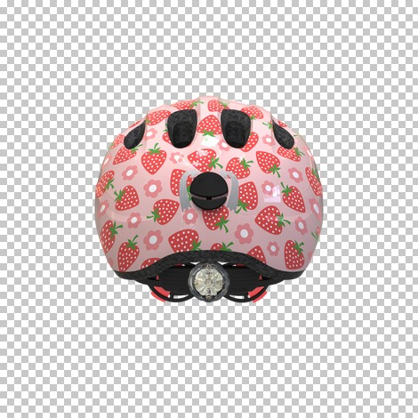 ABUS  Fahrradhelm Smiley 2.1  rose Strawberry 3