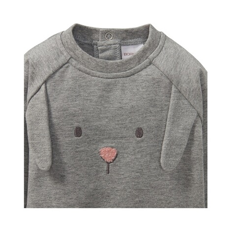Bornino FARM ANIMALS Sweatshirt langarm Hase 3