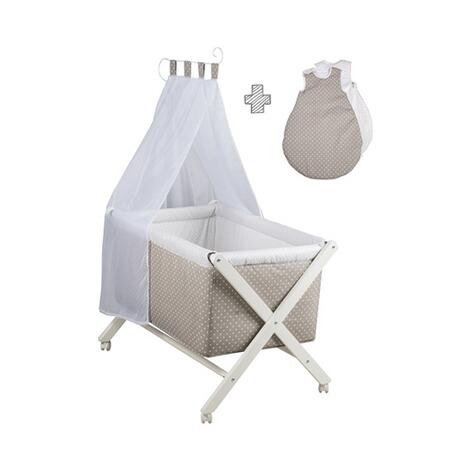 roba stubenwagen klappbar mit nestchen himmel schlafsack 70 online kaufen baby walz. Black Bedroom Furniture Sets. Home Design Ideas