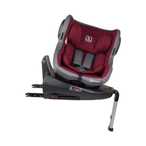 babyGO  Iso 360 Kindersitz  red 6