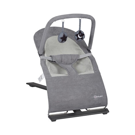 babyGO  Babywippe Fancy  grey 1
