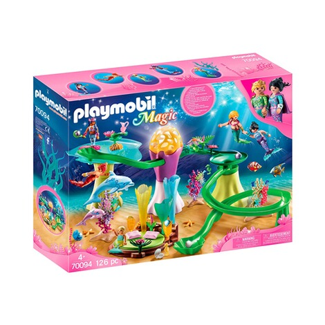Playmobil® MAGIC 70094 Korallenpavillon mit Leuchtkuppel 1