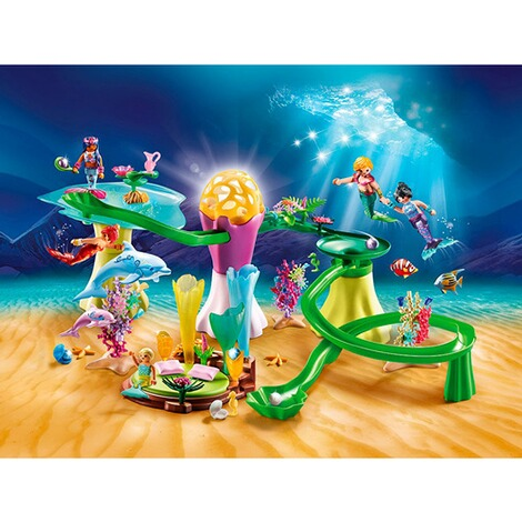 Playmobil®MAGIC70094 Korallenpavillon mit Leuchtkuppel 3