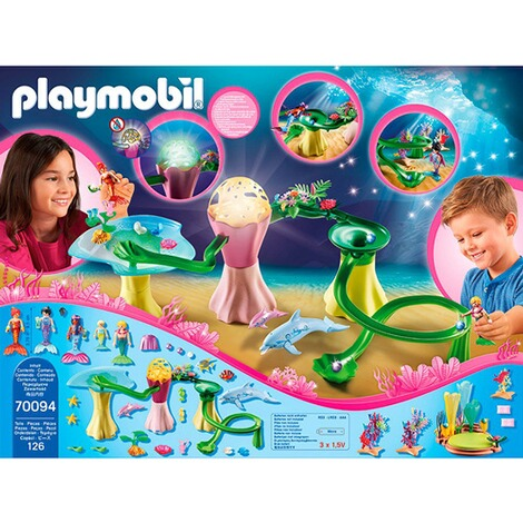 Playmobil®MAGIC70094 Korallenpavillon mit Leuchtkuppel 4